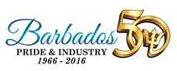 Barbados maritime ship registry 50th Logo pride and industry